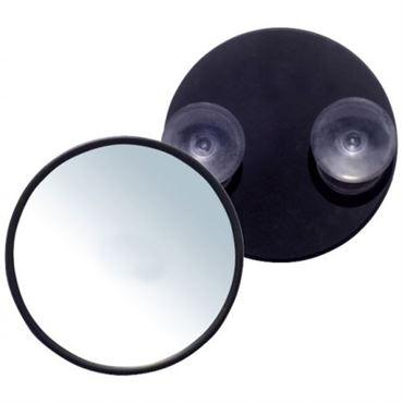 Uniq makeup spejl 10x forstørrelse med sugekop - sort fra N/A på fashiongirl