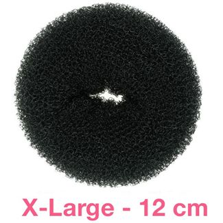 N/A – 12 cm hair-donut sort på fashiongirl