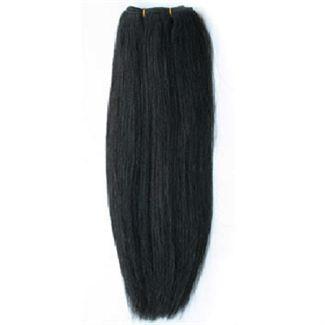 Trense 50 cm farvet sort 1b# fra N/A på fashiongirl