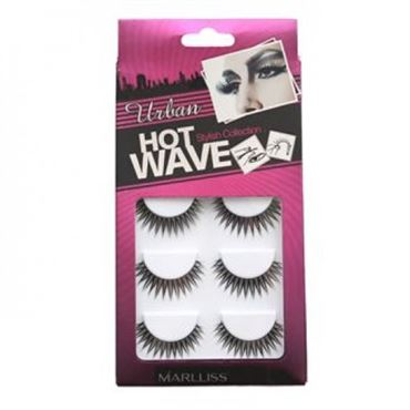 Kunstige vipper - hot wave collection 5pack no. 3209 - 5 par fra N/A fra fashiongirl