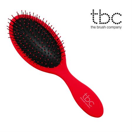 TBC® The Wet & Dry Brush hårbørste - Rød