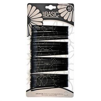 N/A Hårnåle sorte pakke m/ 48 stk. fra fashiongirl