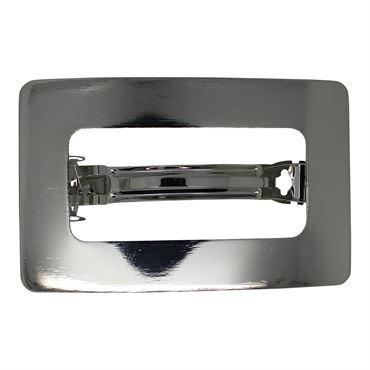 Soho® rektangel metal spænde- sølv fra N/A på fashiongirl