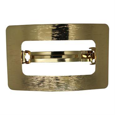 N/A – Soho® rektangel metal spænde- guld fra fashiongirl