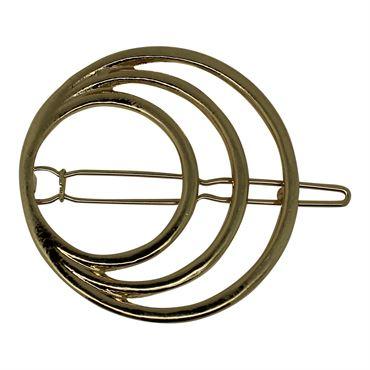 N/A Soho® rings in ring hårspænde - guld på fashiongirl