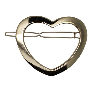 Soho® hjerte metal spænde- guld fra N/A på fashiongirl