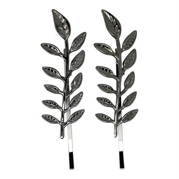 Soho® leaf/blad hårspænde - sølv fra N/A fra fashiongirl