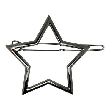 N/A – Soho® star metal spænde - sølv på fashiongirl