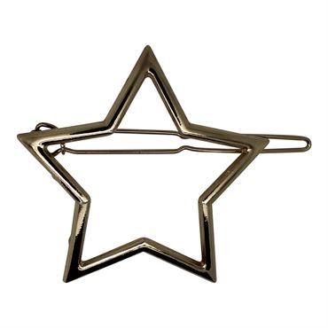 Soho® star metal spænde - guld fra N/A fra fashiongirl