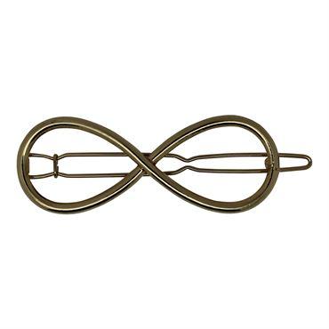 Soho® sløjfe metal spænde - guld fra N/A fra fashiongirl