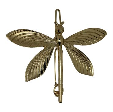 N/A Soho® butterfly metal spænde -guld fra fashiongirl
