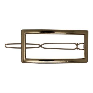 N/A – Soho® frame metal hårspænde -guld på fashiongirl