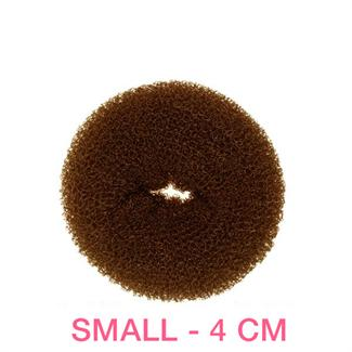 N/A Hår donut  - brun -4 cm på fashiongirl