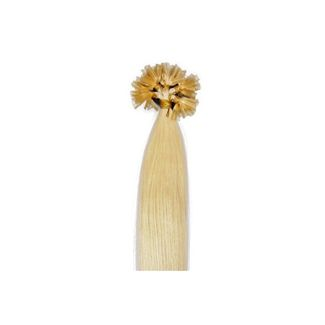 50 cm hot fusion hair extensions 613# blond fra N/A fra fashiongirl