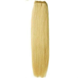 N/A Trense 50 cm platin blond 60# på fashiongirl
