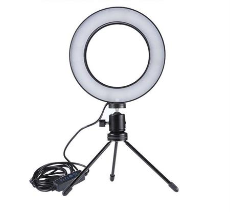 Image of   Pro Ring Light Studio Bord Model - Ring Lys til perfekte billeder & videoer