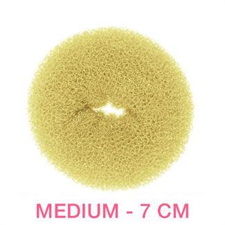 N/A – Hår donut - blond - 7 cm fra fashiongirl