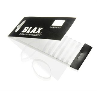 N/A – Blax hårelastikker 4mm 8 stk clear på fashiongirl