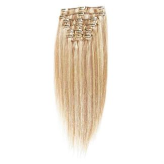 Clip on 65 cm mix lysblond 27/613#
