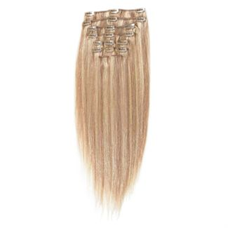 Clip on 65 cm mix blond 18/613
