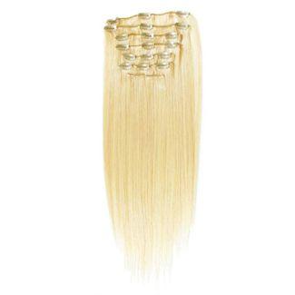 7set kunstigt fiber hår Blond 613# thumbnail
