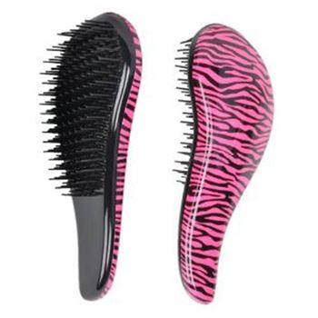 N/A Detangler pink zebra fra fashiongirl