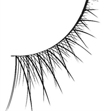 N/A Eyelash extension no. 801 fra fashiongirl