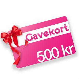 Gavekort - 500 kr. fra N/A fra fashiongirl