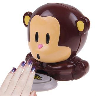 N/A Monkey neglelak tørrer - pusteabe negletørrer fra fashiongirl