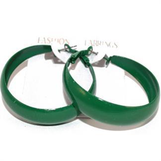 N/A – øreringe - grønne på fashiongirl