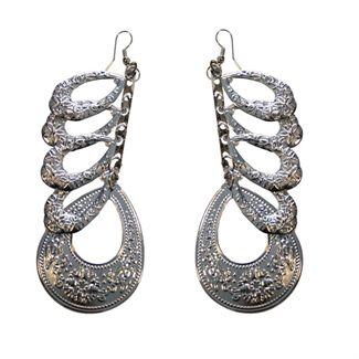 N/A ørering sæt viking look sølv fra fashiongirl