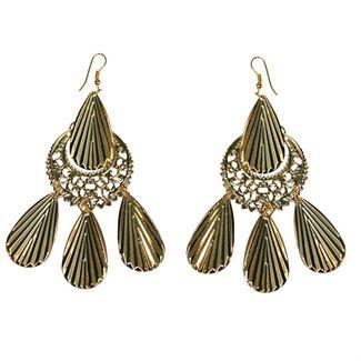 N/A – ørering sæt royal guld fra fashiongirl