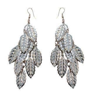 ørering blade sølv potpourri fra N/A fra fashiongirl