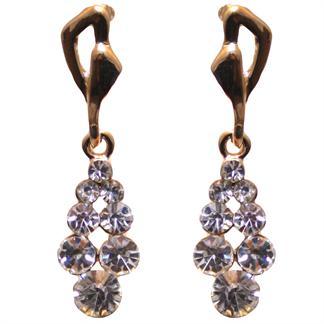 øreringe - 8 zirkoner fra N/A på fashiongirl