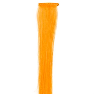 Orange, 50 cm - crazy color clip on fra N/A fra fashiongirl