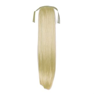 N/A Pony tail fiber extensions straight lysblond 60# fra fashiongirl
