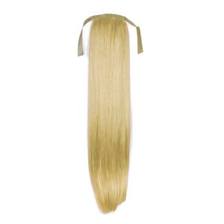 N/A Pony tail fiber extensions straight blond 613# fra fashiongirl