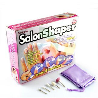 Elektrisk Neglefil / Manicuresæt - Salon Shaper® 5-in-1 -sæt
