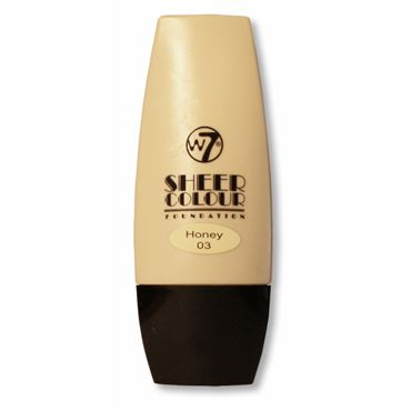 N/A W7 sheer foundation honey fra fashiongirl