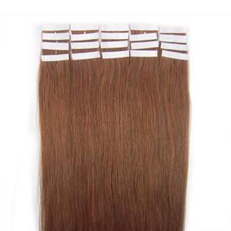 N/A 50 cm tape on rødbrun 30# fra fashiongirl