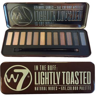 N/A – W7 in the buff lightly toasted eye palette på fashiongirl