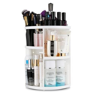 Monoko® 360º rotating cosmetic organizer, hvid fra N/A fra fashiongirl