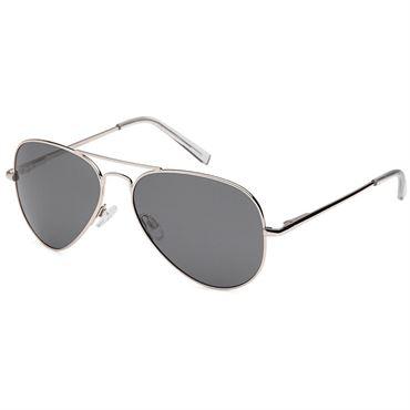 N/A – Lux® aviator classic pilot solbriller med sølvstel på fashiongirl