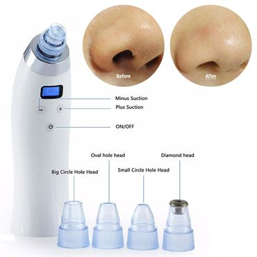 Image of   Blackhead Suction Pro - Effektiv Hudorme suger