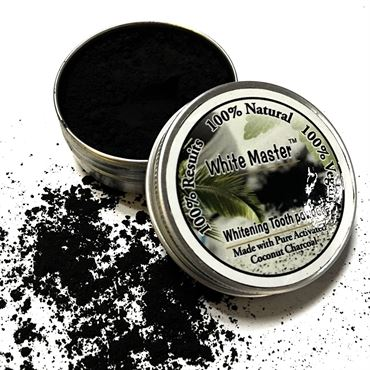 N/A Whitening master coco charcoal teeth whitening powder 30 gram på fashiongirl