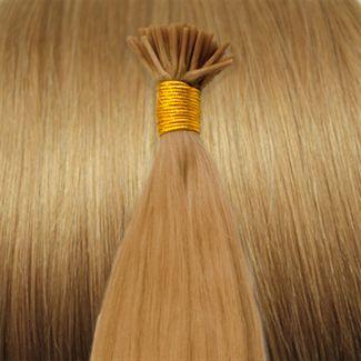60 cm Cold Fusion hair extensions mellemblond 27# thumbnail