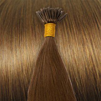 N/A – 50 cm cold fusion hair extensions lysebrun 6# fra fashiongirl