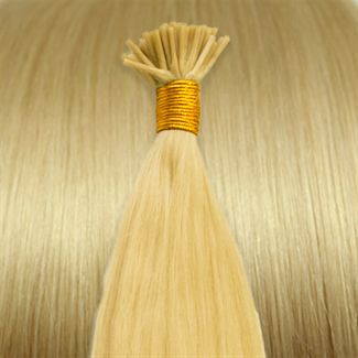 Image of 50 cm Cold Fusion hair extensions blond 613#