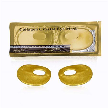 Collagen Gold Øjenmaske - mindsker poser og rynker ved øjnene