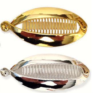 Hårspænde sølv / guld - fishbone fra N/A fra fashiongirl